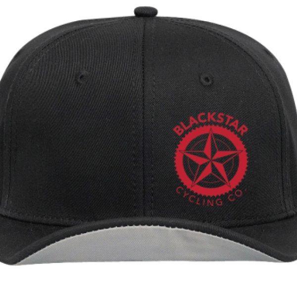 Flip Style Snap Back Blackstar Cycling Fashion Cap