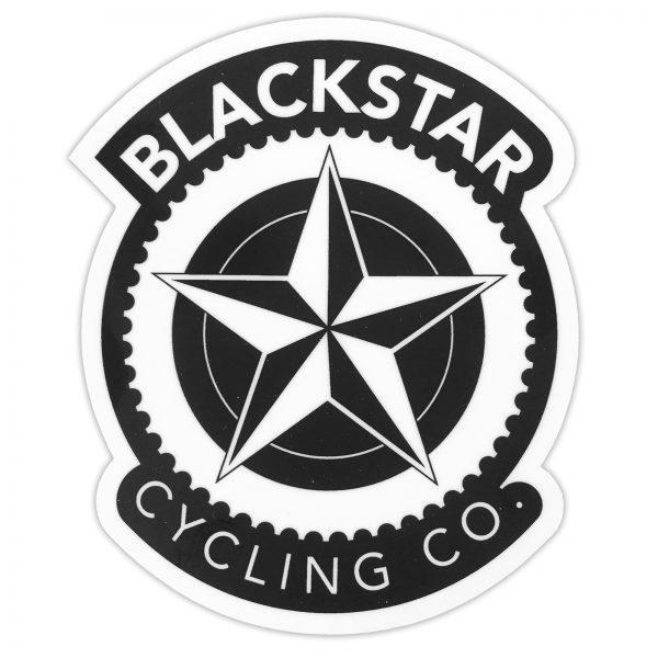 Blackstar Cycling Window Decal