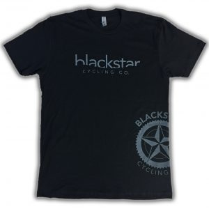 Black star Cycling Fahsion Logo Tee